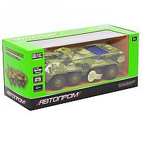 Іграшкова машинка металева «БРДМ», Автопром, зелений, від 3 років, 5*13*5 см, (6409), фото 4