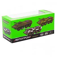 Іграшкова машинка металева «БРДМ», Автопром, зелений, від 3 років, 5*13*5 см, (6409), фото 5