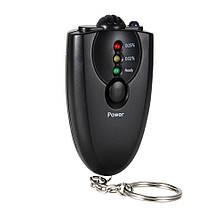 Брелок мини алкотестер для водителей Drive Safety, бесконтактный без мундштука, мобильный алкометр
