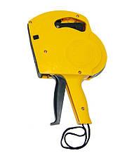 Маркировочный пистолет для ценников KEYiDE EOS5500 Желтый, стикер-пистолет для этикеток (стикеровочный этикет)