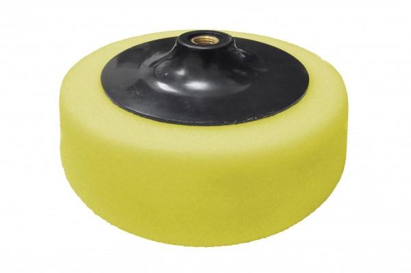 Круг полірувальний поролоновий жовтий d-150 мм