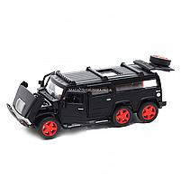 Игрушечная машинка металлическая джип «Hummer», Автопром, черный, 6*16*6 см, от 3 лет, (6618), фото 6