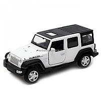 Іграшкова машинка металева джип «Jeep», Автопром, білий, 6*15*6 см, від 3 років, (6616), фото 2