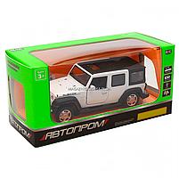 Іграшкова машинка металева джип «Jeep», Автопром, білий, 6*15*6 см, від 3 років, (6616), фото 4