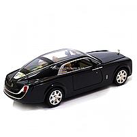Машинка ігрова Rolls-Royce «Автопром», метал, чорний 18*5*7 см, (7693), фото 2