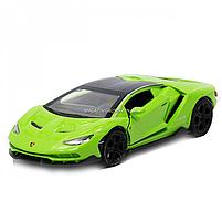 Машинка игровая металлическая Lamborghini «Автопром», салатовый, 14,5*6*3 см, (6602), фото 2