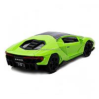 Машинка игровая металлическая Lamborghini «Автопром», салатовый, 14,5*6*3 см, (6602), фото 3