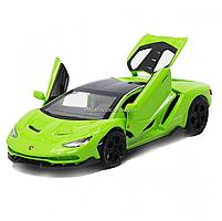 Машинка ігрова металева Lamborghini «Автопром», салатовий, 14,5*6*3 см, (6602), фото 4