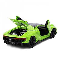 Машинка игровая металлическая Lamborghini «Автопром», салатовый, 14,5*6*3 см, (6602), фото 5