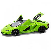 Машинка игровая металлическая Lamborghini «Автопром», салатовый, 14,5*6*3 см, (6602), фото 6