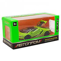 Машинка ігрова металева Lamborghini «Автопром», салатовий, 14,5*6*3 см, (6602), фото 7