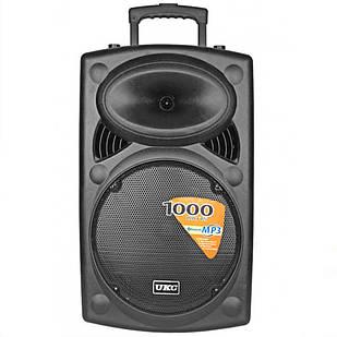 Портативная беспроводная колонка Su-Kam BT 15 + 2 микрофона