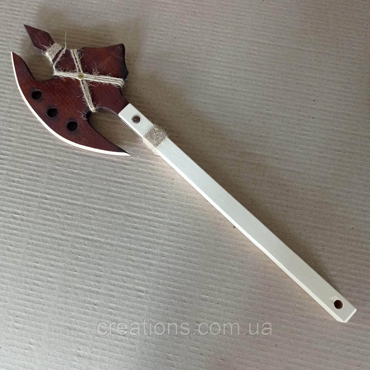 Дерев'яний дитячий сокиру вікінгів 51 см