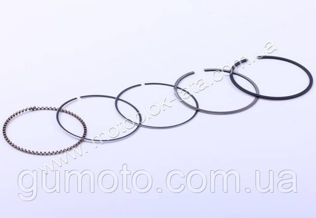 Кольца 57,0 mm STD, к-т на 1 поршень - 150CC, фото 2