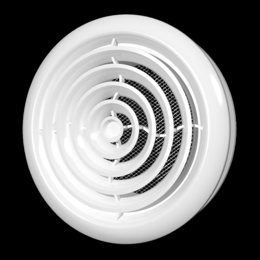 Диффузор Эра ABS приточно-вытяжной с фланцем 150 х 200 мм (60-119)