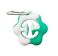 Игрушка антистресс снапперс Snapperz сенсорная игрушка присоска (игрушка эспандер) Green-White