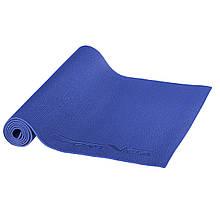 Килимок (мат) для йоги та фітнесу SportVida PVC 6 мм SV-HK0053 Sky Blue