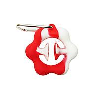 Игрушка антистресс снапперс Snapperz сенсорная игрушка присоска (игрушка эспандер) Red-White