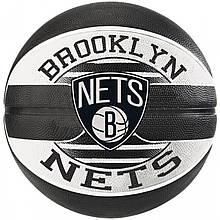 М'яч баскетбольний Spalding NBA Team Brooklyn Nets Size 7