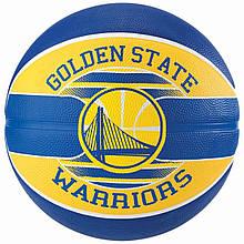 М'яч баскетбольний Spalding NBA Team GS Warriors Size 7