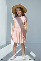 """Літні плаття на дівчинку з бавовни """"Бджілка"""" ТМ Hart, фото 1"""