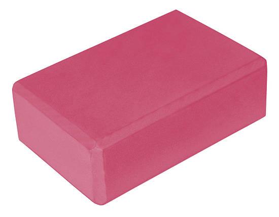 Блок для йоги Sport Shiny SV-HK0168 Pink, фото 2