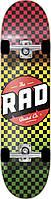 Скейтборд RAD Checkers Progressive Rasta