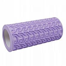 Масажний ролик (валик, роллер) SportVida EVA 33 x 14 см SV-HK0225 Purple
