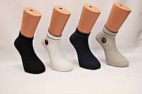 Чоловічі шкарпетки короткі з бавовни ZG 41-44 асорті