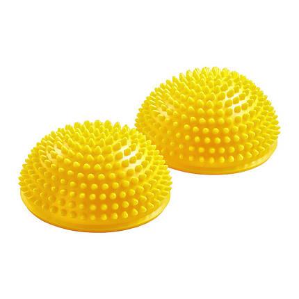 Півсфера масажна балансувальна (масажер для ніг, стоп) 4FIZJO Balance Pad 16 см 4FJ0110 Yellow, фото 2