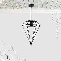 Подвесной светильник CRYSTAL E27 чёрный