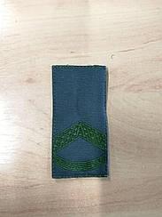 Погон ЗСУ Штаб-сержант /тк. олива/ 10*5 см