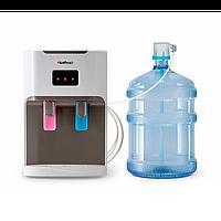 Кулер для воды с нижним размещением бутыля HotFrost D115 White Outside, фото 1