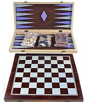 Игровой набор 3в1 Шахматы Шашки Нарды