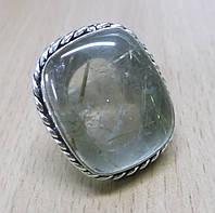 """Кольцо с рутиловым кварцем (волосатиком)""""Соната"""", размер 17,8 от Студии  www.LadyStyle.Biz"""