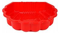 Пісочниця ракушка пластикова Dorex красняя 20753