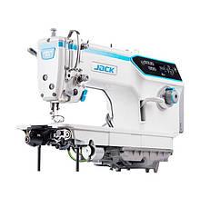 Jack A6F Прямострочная машина автомат для лёгких и средних тканей (беспосадочная)