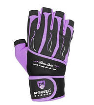 Рукавички для фітнесу і важкої атлетики Power System Fitness Chica жіночі PS-2710 Purple S, фото 2