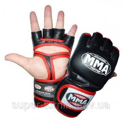 Рукавички для ММА Power System 007 Faito Red XL, фото 2