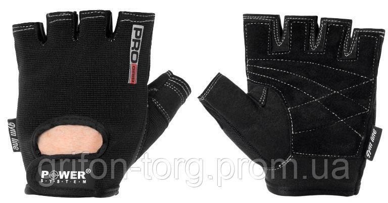 Рукавички для фітнесу і важкої атлетики Power System Pro Grip PS-2250 Black L