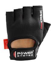 Рукавички для фітнесу і важкої атлетики Power System Pro Grip PS-2250 Black L, фото 2
