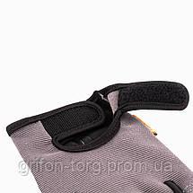 Рукавички для фітнесу і важкої атлетики Power System Pro Grip PS-2250 Grey L, фото 3