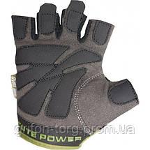 Рукавички для фітнесу і важкої атлетики Power System Cute Power PS-2560 жіночі Green S, фото 2