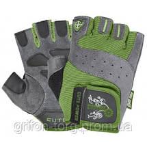 Рукавички для фітнесу і важкої атлетики Power System Cute Power PS-2560 жіночі Green S, фото 3