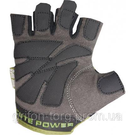 Рукавички для фітнесу і важкої атлетики Power System Cute Power PS-2560 жіночі Green M, фото 2
