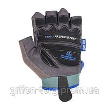 Рукавички для фітнесу і важкої атлетики Power System woman's Power PS-2570 жіночі Blue S, фото 2