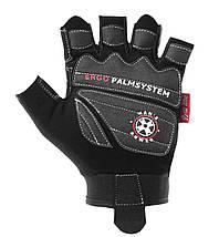 Рукавички для фітнесу і важкої атлетики Power System man's Power PS-2580 M Black, фото 2