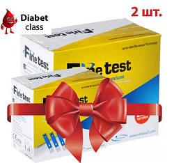 Тест-полоски FineTest Premium (Файн Тест Премиум) 50 штук 2 упаковки