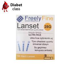 Ланцеты FreelyFine 28G 100 шт.