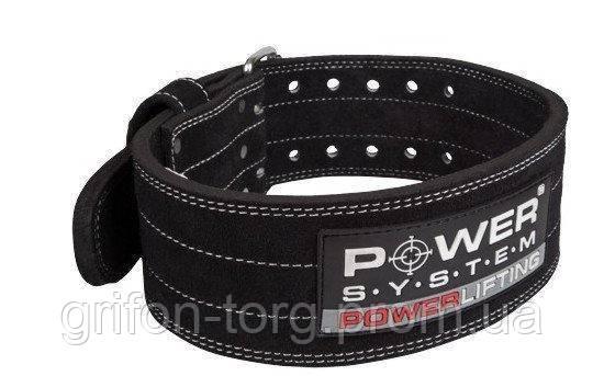 Пояс для пауерліфтингу Power System Power Lifting PS-3800 Black L